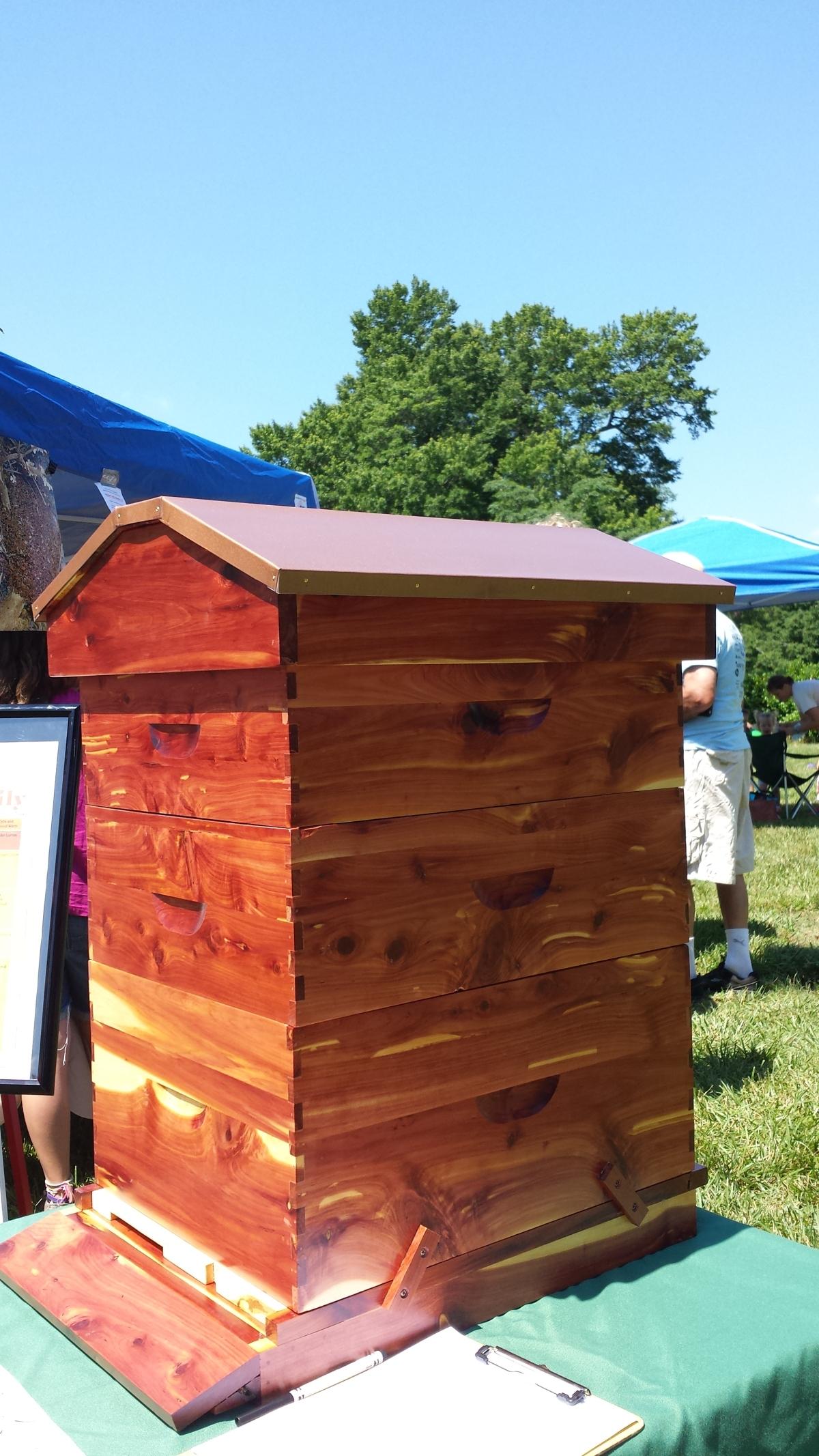 Cedar Beehive Raffle –$5